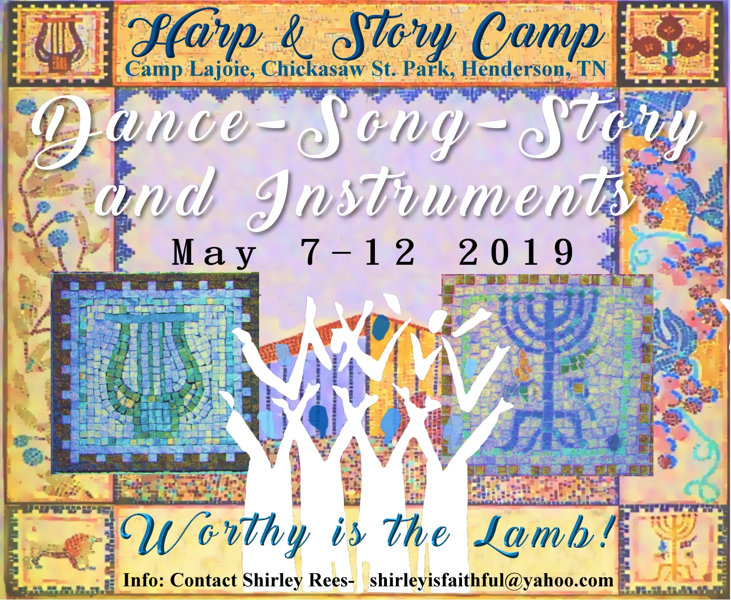 harp and story flyer
